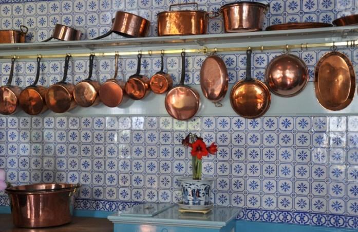 Une journée autour de Giverny - cuisine de Monet