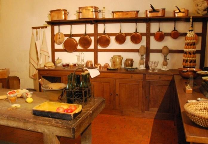 Château d'Azay-le-Rideau - les cuisines