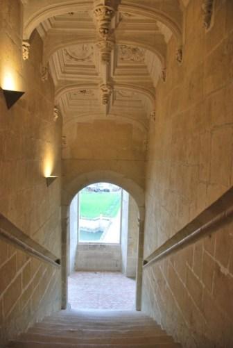 Château d'Azay-le-Rideau - l'escalier d'honneur