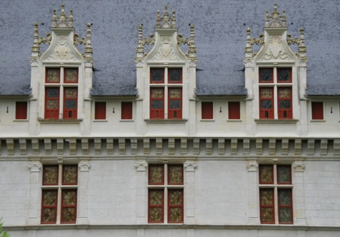 Château d'Azay-le-Rideau - fenêtres