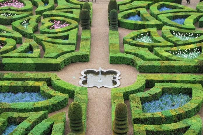 Jardins du château de Villandry - jardins d'amour