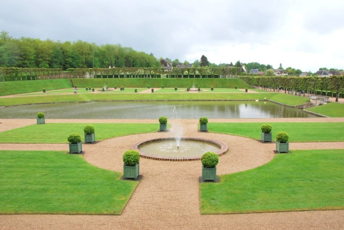 Jardins du château de Villandry - le jardin d'eau