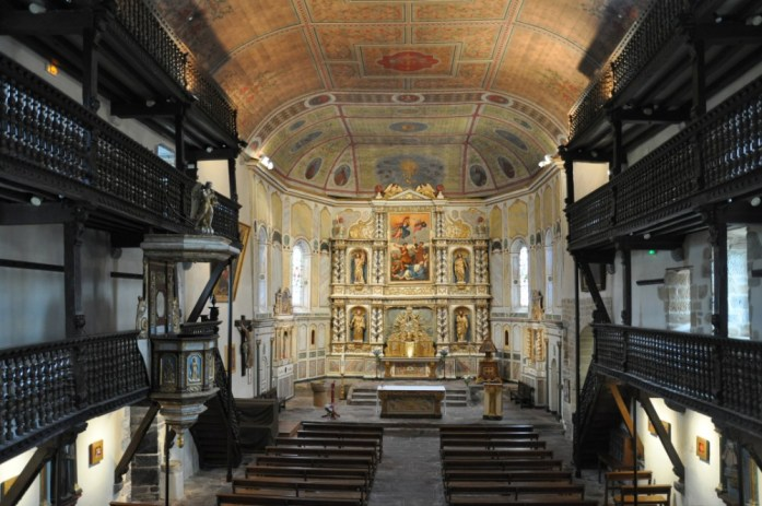 La Marinière en Voyage - église d'Espelette