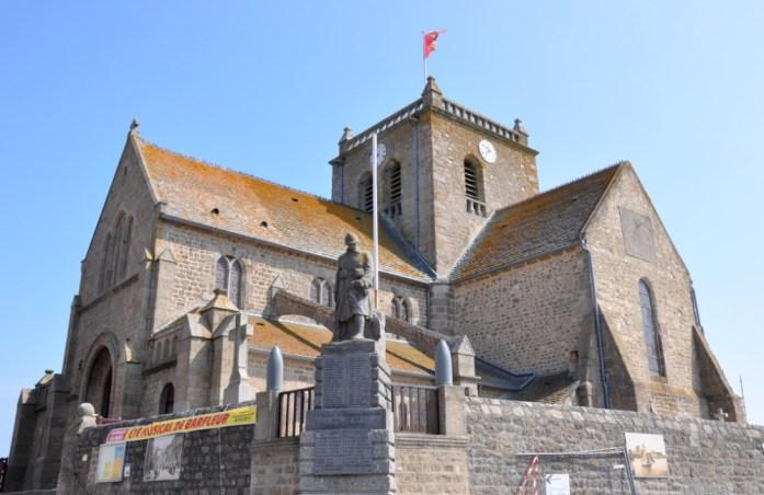 La Marinière en Voyage - église de Barfleur