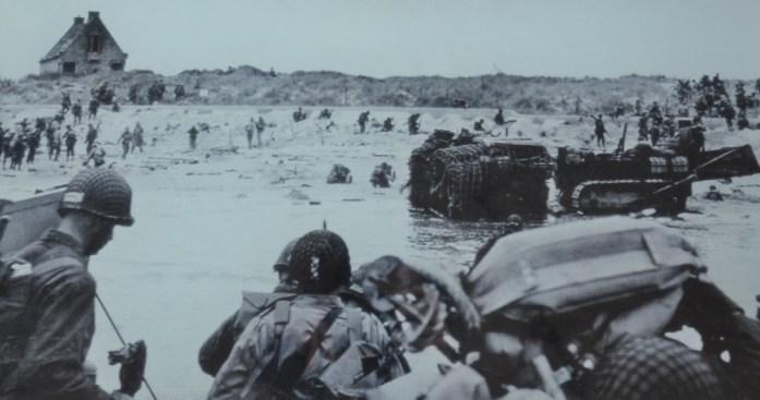 La Marinière en Voyage - le débarquement de Normandie