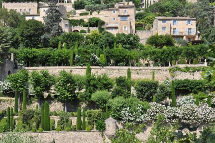 La Marinière en Voyage - jardins de Gordes