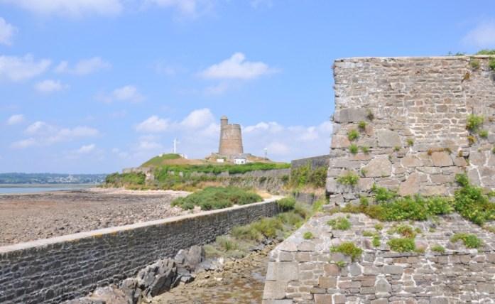 La Marinière en Voyage - fort de la Hougue