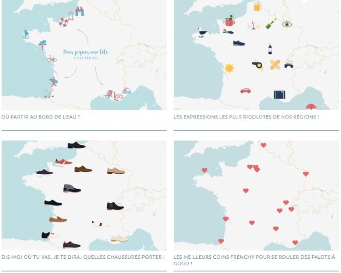 La Marinière en Voyage - les cartes des Petits Frenchies