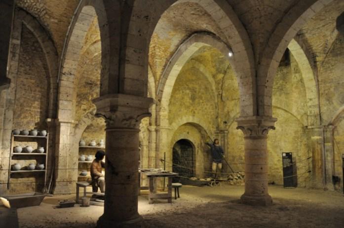 La Marinière en Voyage - Cave de la Grange aux dîmes de Provins