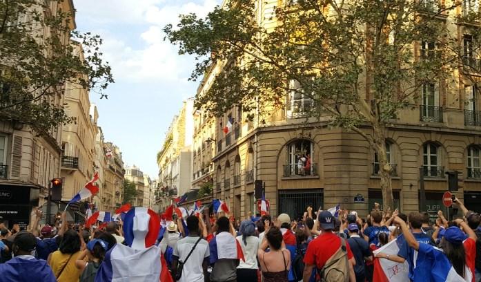 La Marinière en Voyage - victoire de la coupe du monde