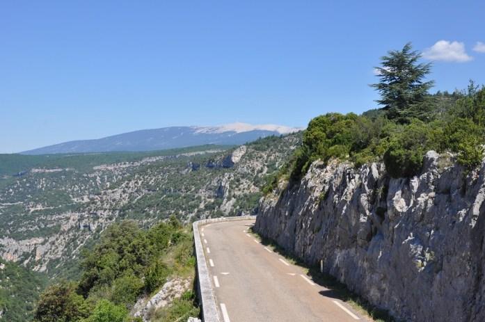 La Marinière en Voyage - les gorges de la Nesque et le Mont Ventoux