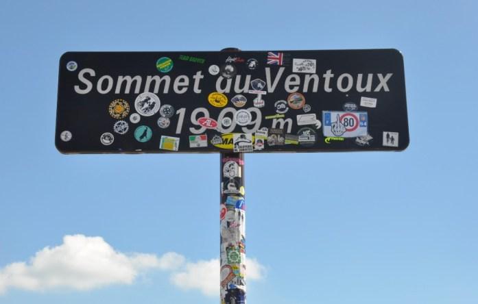 La Marinière en Voyage - sommet du Mont Ventoux