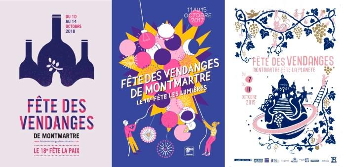 Que faire à Paris en automne - fête des vendanges de Montmartre