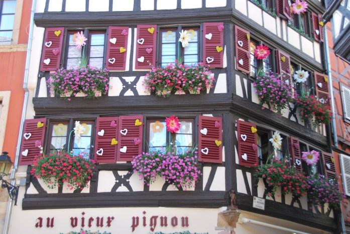 La Marinière en Voyage - les façades alsaciennes de Colmar