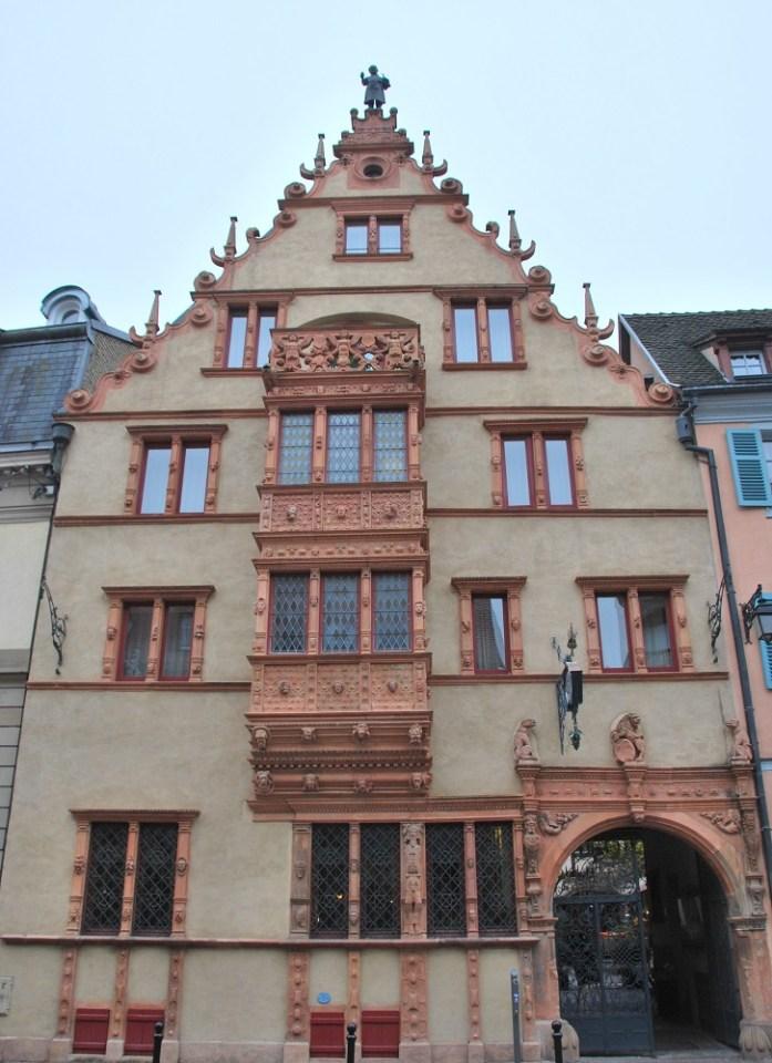 La Maison des têtes de Colmar