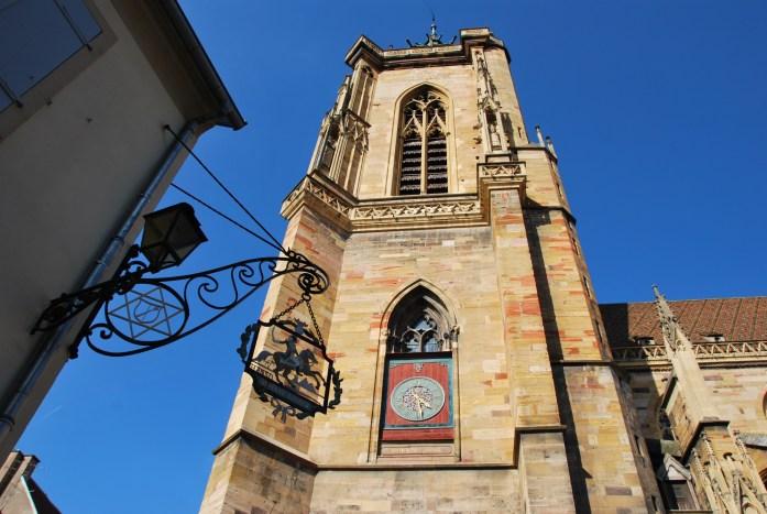 La Marinière en Voyage - collégiale Saint Martin de Colmar