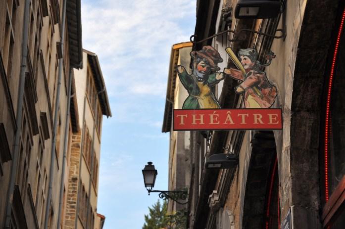 La Marinière en Voyage - Guingnol de Saint Georges dans le Vieux Lyon