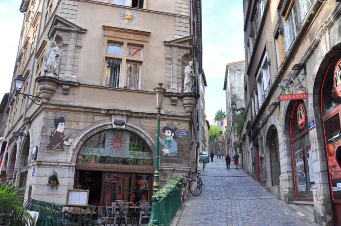 La Marinière en Voyage - Montée à Saint Georges dans le Vieux Lyon
