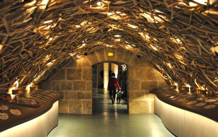 Musées parisiens insolites - Caves du Louvre