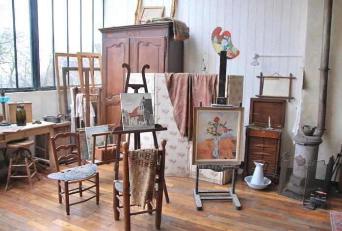Musées parisiens insolites - Atelier du musée de Montmartre
