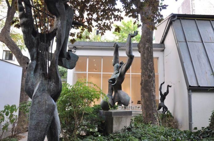 Musées parisiens insolites - sculptures du Musée Zadkine