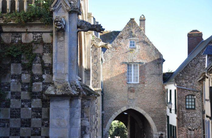 Porte de Nevers à Saint Valéry sur Somme