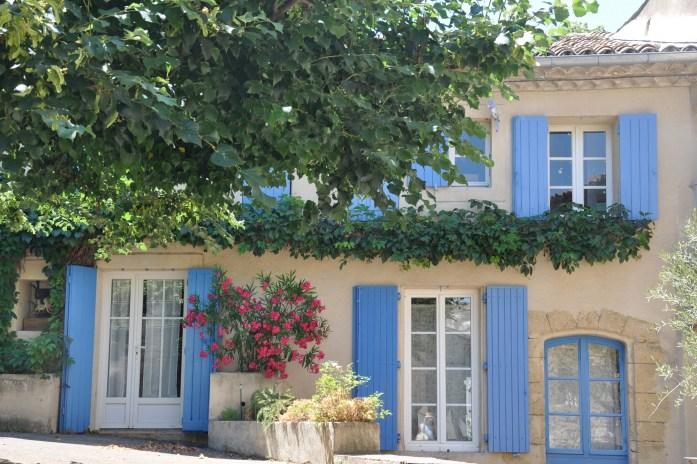Maison fleurie à Lourmarin