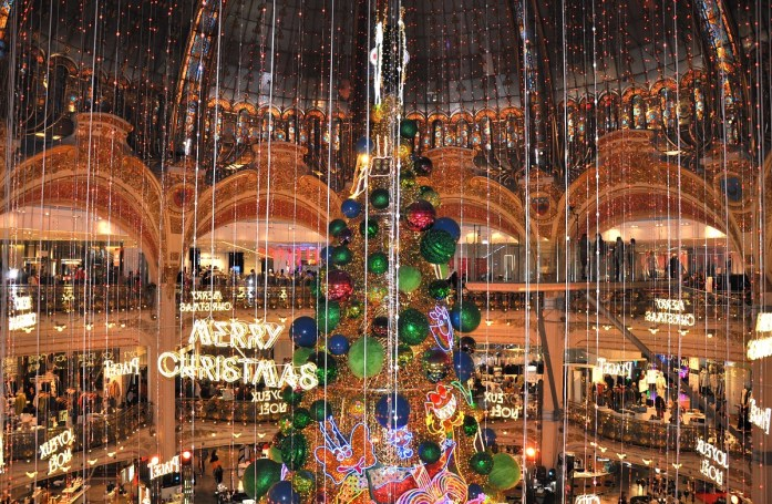 Décorations de Noël à Paris - 2018