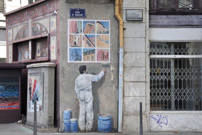 Week-end à Lyon : murs peints