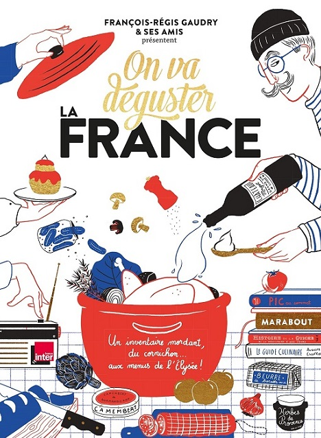 On va déguster la France - livre