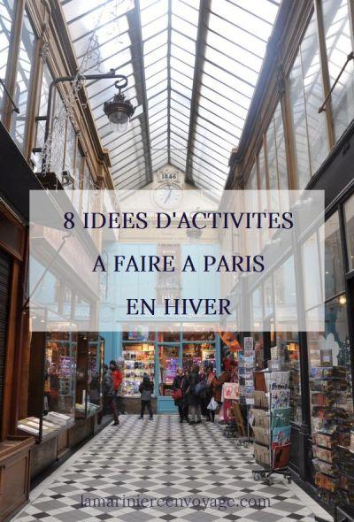 8 idées d'activités à faire à Paris en hiver