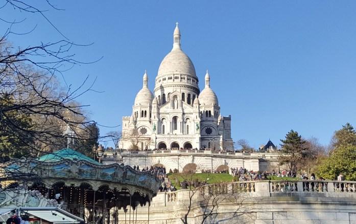 Sacré cœur à Montmartre