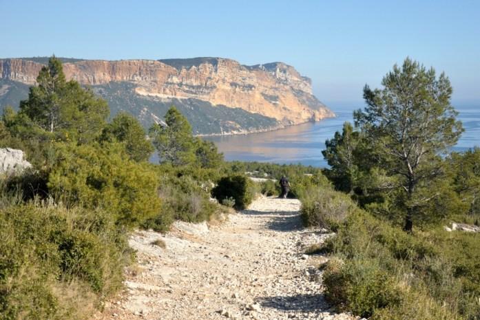 Cap Canaille depuis les calanques de Cassis