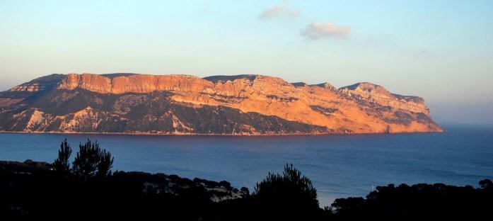 Coucher de soleil sur le Cap Canaille