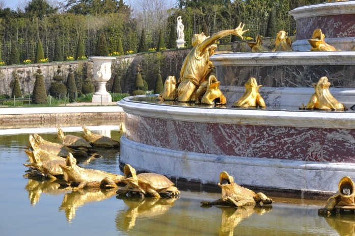Bassin de Latone à Versailles