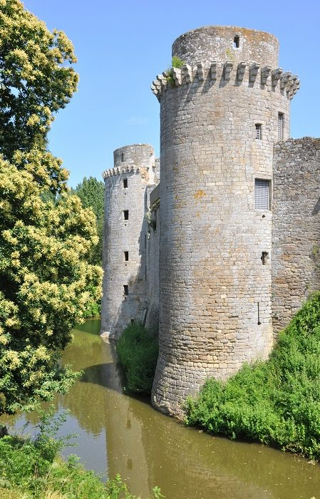 Château de la Hunaudaye en Bretagne