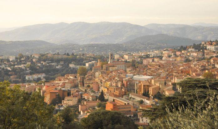 Panorama sur Grasse