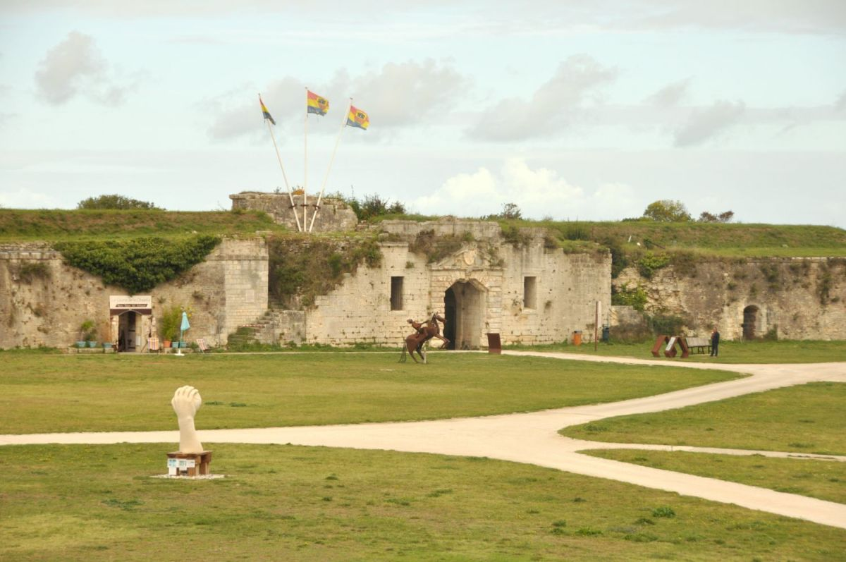 Citadelle du Château d'Oléron - Blog La Marinière en Voyage