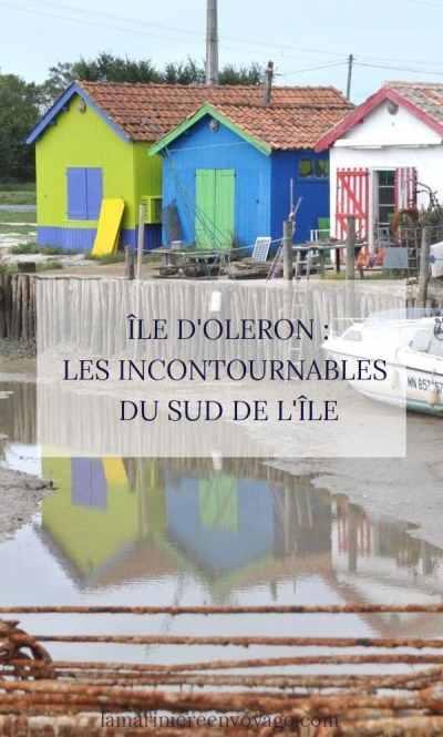 Découvrir les sites incontournables du sud de l'île d'Oléron - Blog La Marinière en Voyage