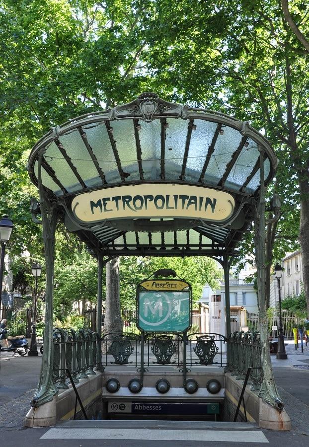 Métro parisien - Blog La Marinière en Voyage