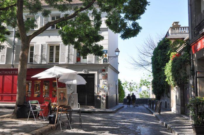 Place du Tertre à Montmartre - Blog La Marinière en Voyage