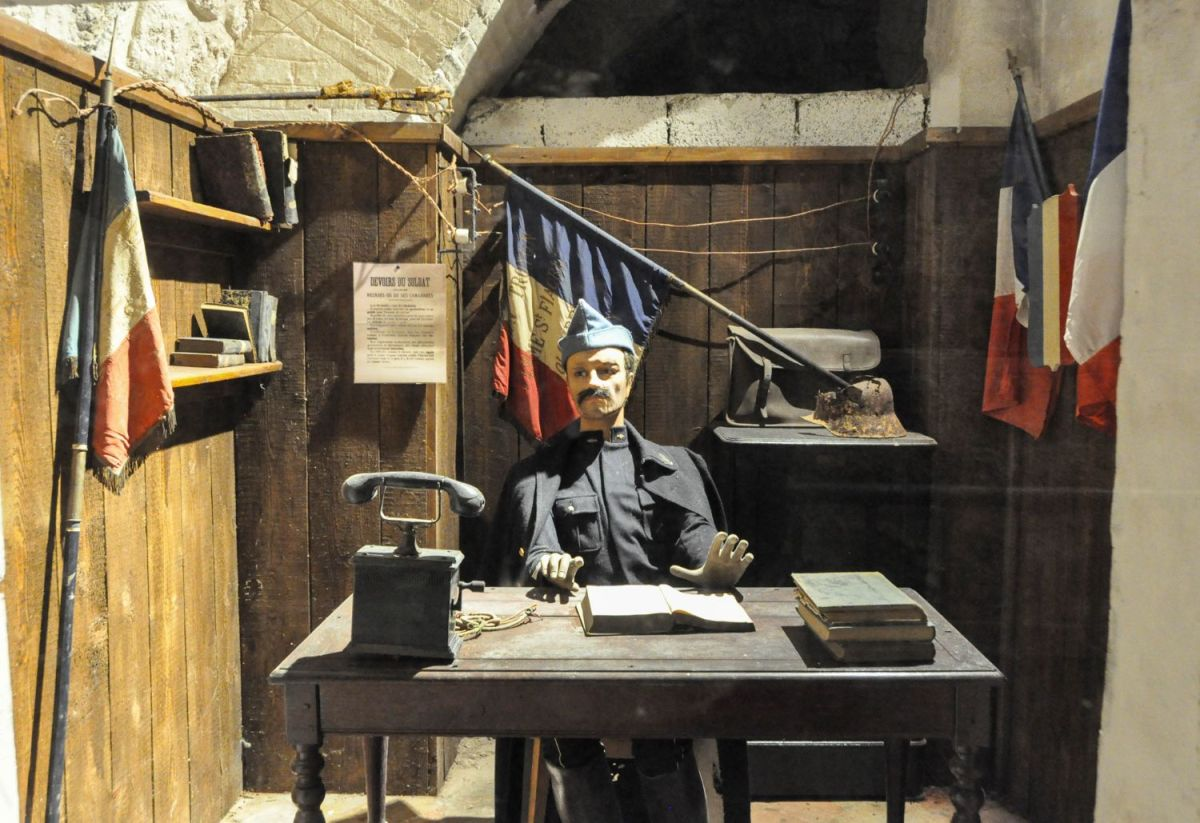 Fort de Vaux à Verdun - Blog La Marinière en Voyage
