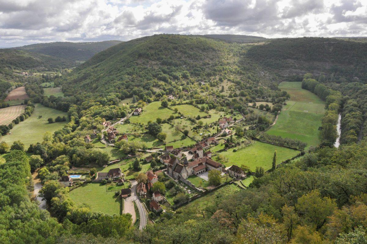 Randonnée vallée du Célé - blog La Marinière en Voyage