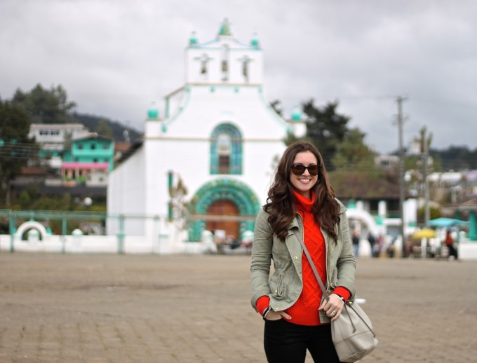 La Mariposa travels: Chiapas, Mexico: Plaid, Red and Military Green