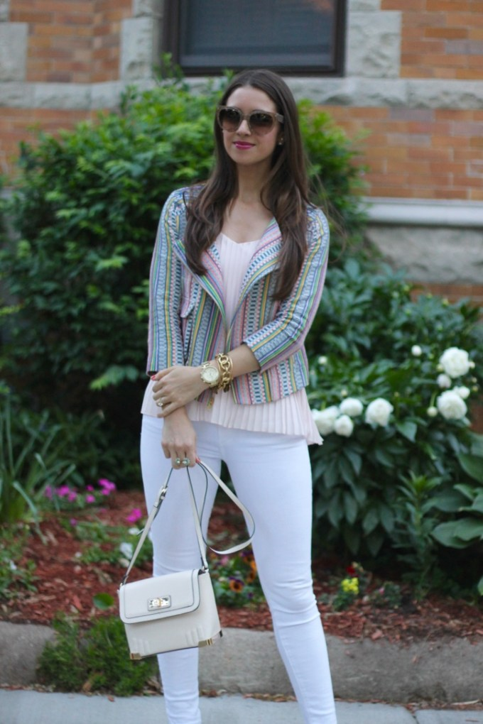Striped Pastel Cynthia Vincent Blazer