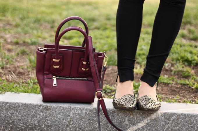 Madison West Maroon Bag