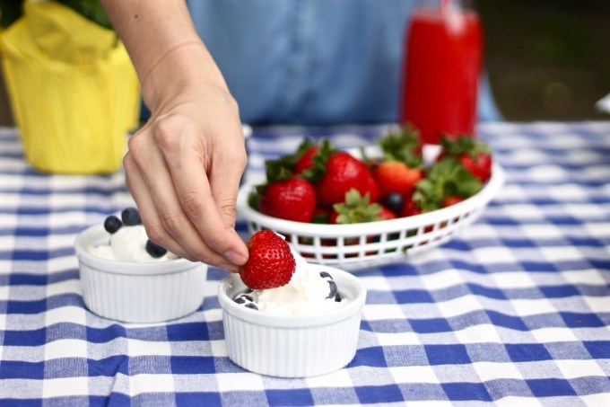 Fourth of July healthy picnic snack ideas