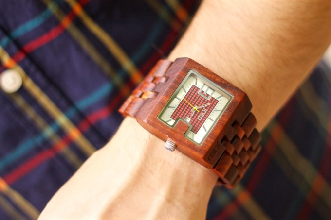 Jord Wood Watch in Cherry