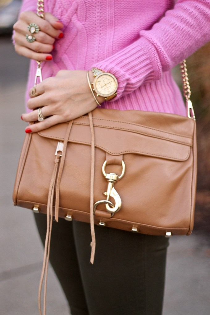 Rebecca Minkoff MAC Bag in Tan