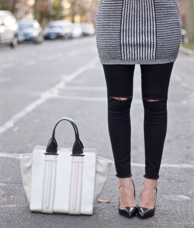 Contrast Colorblock Bag